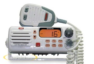 GME - vhf radio - white